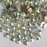 Hot Sale 1000 Pcs 3mm 14 Facets Resin Round Rhinestone Gems Flatback Crystal AB