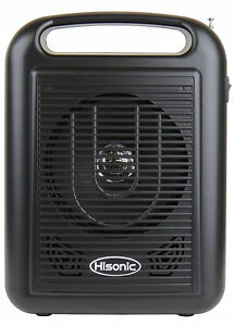 hisonic hs310 rechargeable portable bluetooth pa system wireless microphone ebay. Black Bedroom Furniture Sets. Home Design Ideas