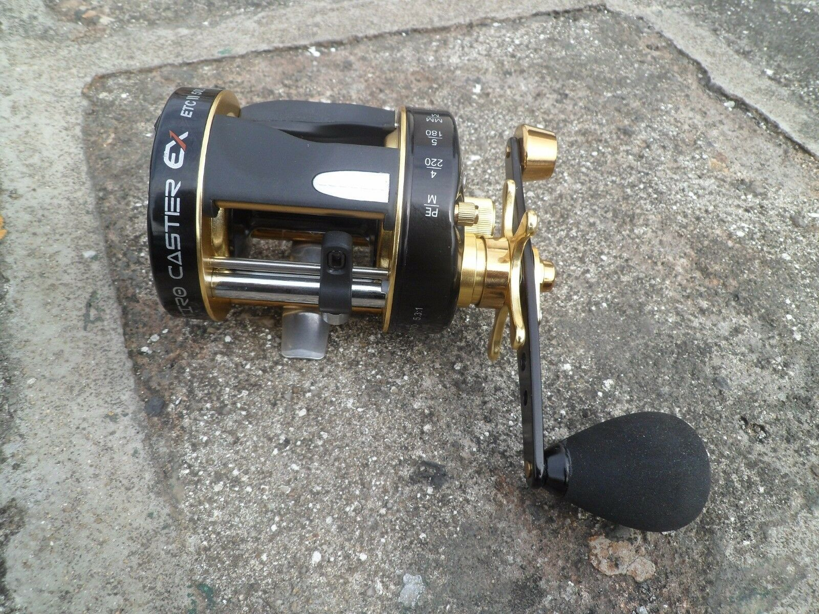 Overhead Saltwater Trolling Big Game  Fishing Reel 5+1BB ETC 40 Left Handle  wholesale prices