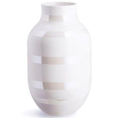 Kähler Design Vase Omaggio Hellblau 30,5cm
