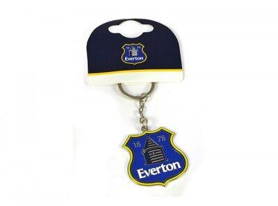 Rigoroso Everton Fc Squadra Calcio Cresta Distintivo Metallo Torre Portachiavi Ufficiale Prestazioni Superiori