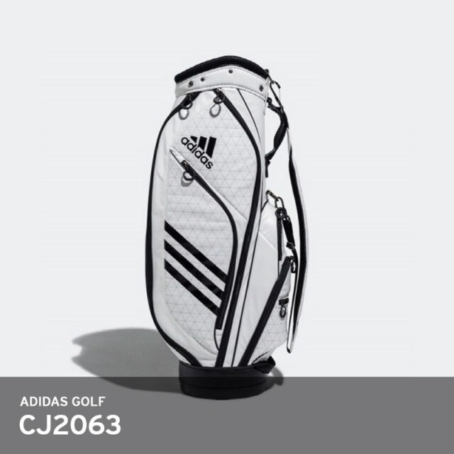 bd50a7cd772c ... Adidas Golf 2018 Light Weight 10lb Caddie Cart Bag 9In 5-Way PU Free  Ems ...