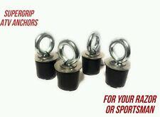 (4) SuperGrip Polaris Razor Lock and Ride Type Tie Downs Sportsman RZR, ACE