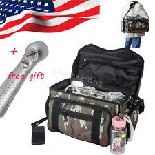 Usa Camouflage Portable Dental Unit Air Compressor Suction System Triple Syringe