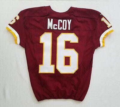 big sale 7f6cc 35822 #16 Colt McCoy (QB) of Washington Redskins NFL Game Issued Jersey | eBay
