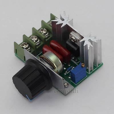 800W Adjustable Voltage Regulator AC Motor Speed Control Controller 50-250V
