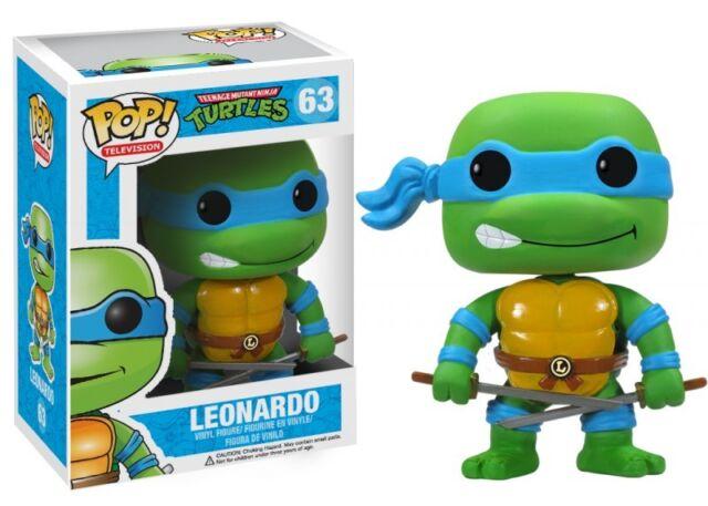 Teenage Mutant Ninja Turtles 63 Leonardo Funko Pop! TV Vinyl Figure Brand New
