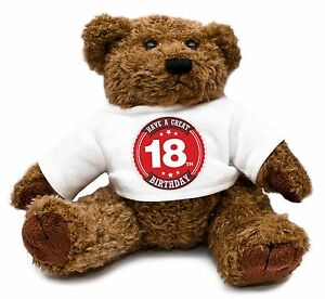Image Is Loading 18th Birthday Teddy Bear Gift Idea Present Special