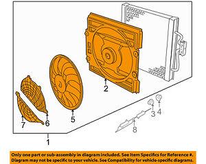 bmw oem 99 02 540i radiator cooling fan blade 64546921395 Engine Cooling System Diagram image is loading bmw oem 99 02 540i radiator cooling fan