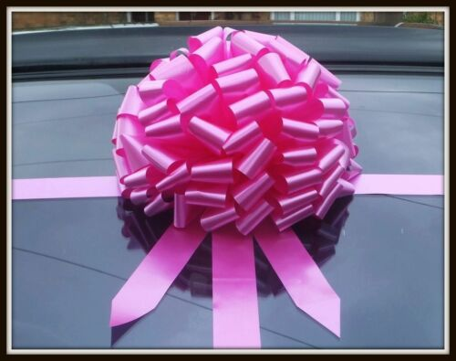 gift bow ALL COLOURS Large bow for car BIg SUPERFAST DISPATCH!!