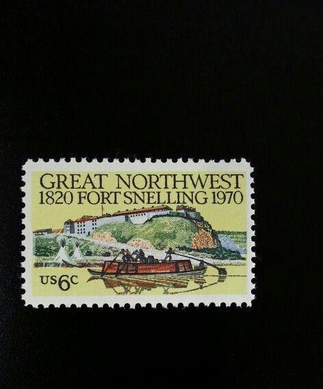 1970 6c Fort Snelling, Minnesota, Great Northwest Scott