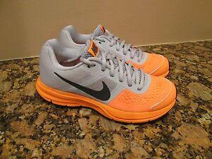 fdec5abbb56 Nike Air Pegasus+ 30 (GS) Youth Grey Orange Running Shoes 599699 004 ...