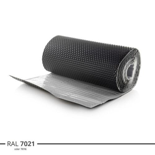 Wandanschlussband Kaminanschlussband 3D Struktur Dachabdeckung Dach Graphit
