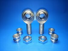 """Panhard Bar Economy Rod End 3/4"""" x 3/4"""" Heim Joints 3/4-1/2 Misalignment Spacers"""
