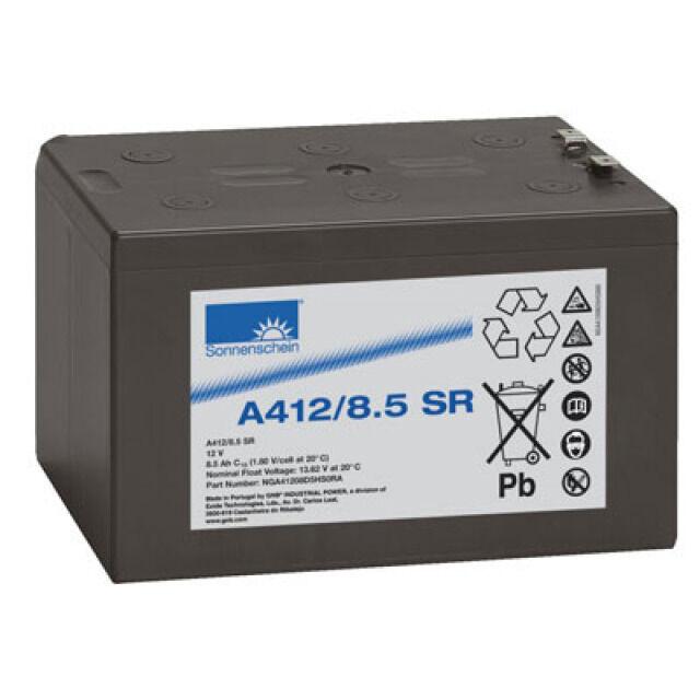 Exide  Dryfit A412/8.5SR 12V 8,5Ah Faston 6,3mm