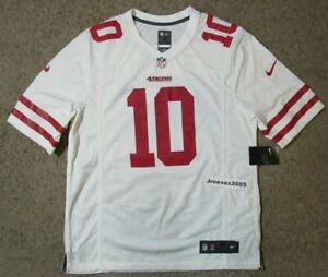 promo code eb0ef 0038a Nike San Francisco 49ers Jimmy Garoppolo Jersey Men's Sz Med White 888158