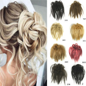 Natural-Elastic-Band-Hair-Bun-Curly-Messy-Chignon-Scrunchie-Hair-Extension