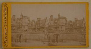 Museo-Cluny-Parigi-Francia-Foto-Stereo-L44-Vintage-Albumina-c1870