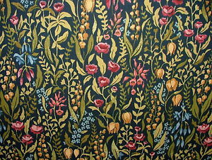 Kelmscott Jewel Cotton Curtain Upholstery Quilting Fabric
