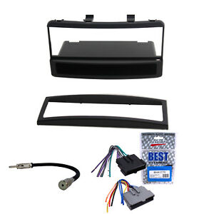 Double DIN Ford Focus 2000-2004 Car Stereo Dash Install Kit With Wiring Harness