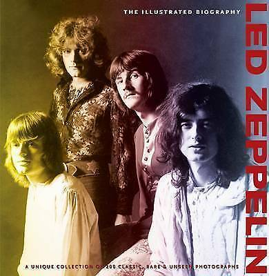 1 of 1 - GARETH THOMAS-Illustrated Biography: Led Zeppelin  BOOK NEW