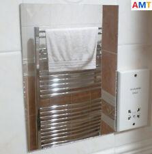 ANTI FOG MIRROR - ACRYLIC ANTI MIST BATHROOM SHAVING MIRROR - A4 297mm x 210mm