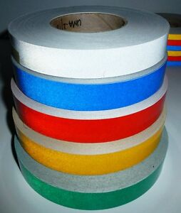 Image Is Loading 3M CLASS 2 REFLECTIVE TAPE RED 50mm X