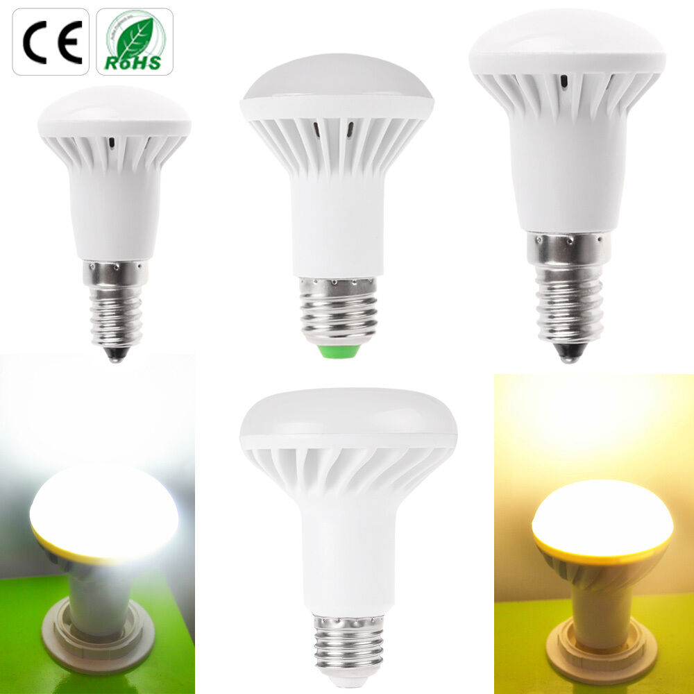 e14 e27 led reflector light bulbs warm cool white r39 r50 r63 r80 reflectors ebay. Black Bedroom Furniture Sets. Home Design Ideas
