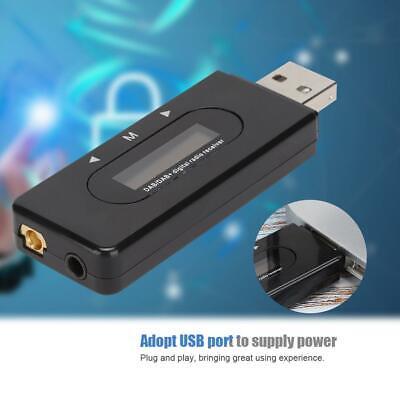 Car DAB//DAB+Digital Radio USB Adapter Receiver FM Transmitter Tuner w//Antenna