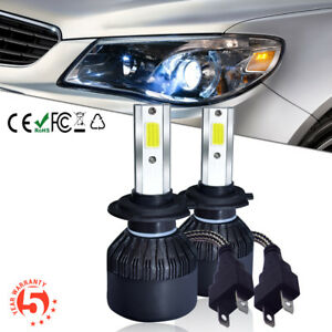 H7-LED-110W-26000LM-Coche-Headlight-Kit-Luz-Bombillas-Lampara-6000K-Blanco-Frio