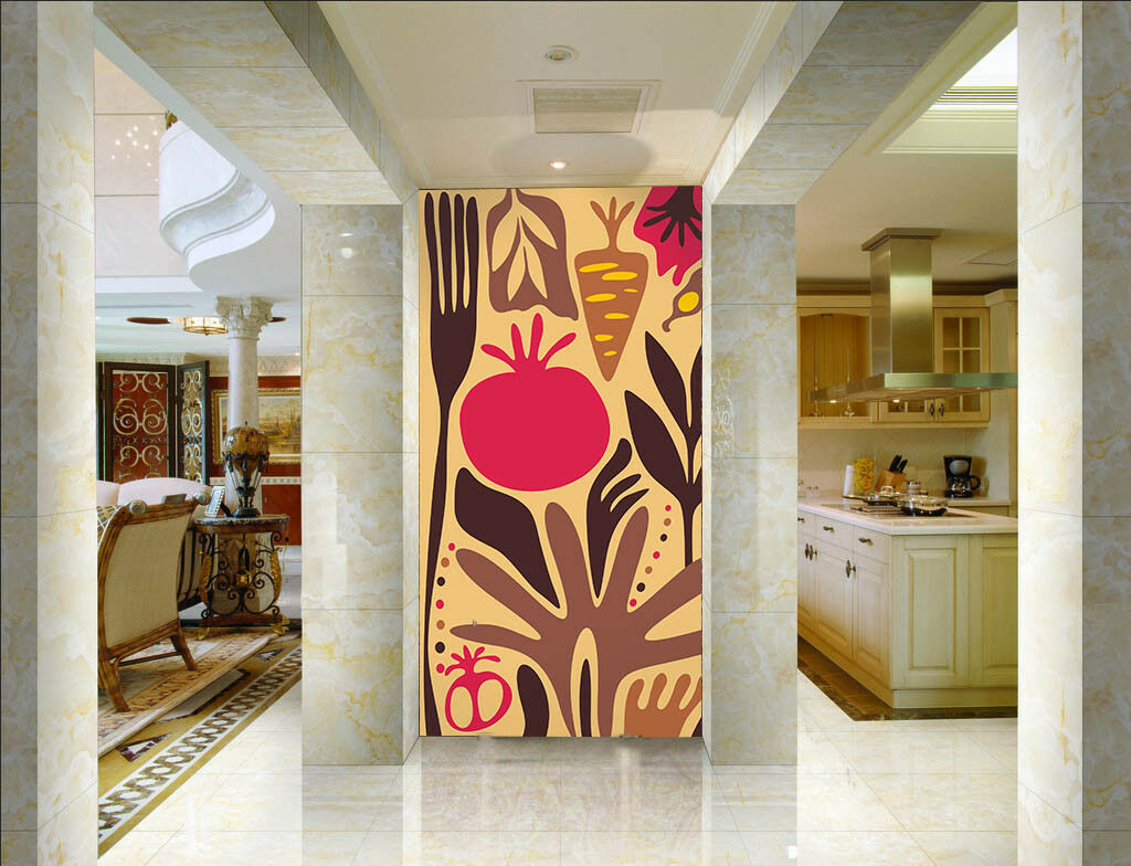 3D Vegetable Fruit 452  Wall Paper Wall Print Decal Wall Deco Indoor Mural Lemon
