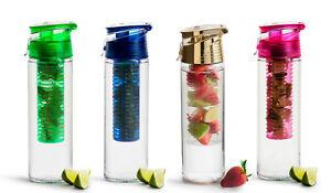 Fruit Infuser TrinkflascheWasserflasche mit FruchteinsatzBPA freie Flasche