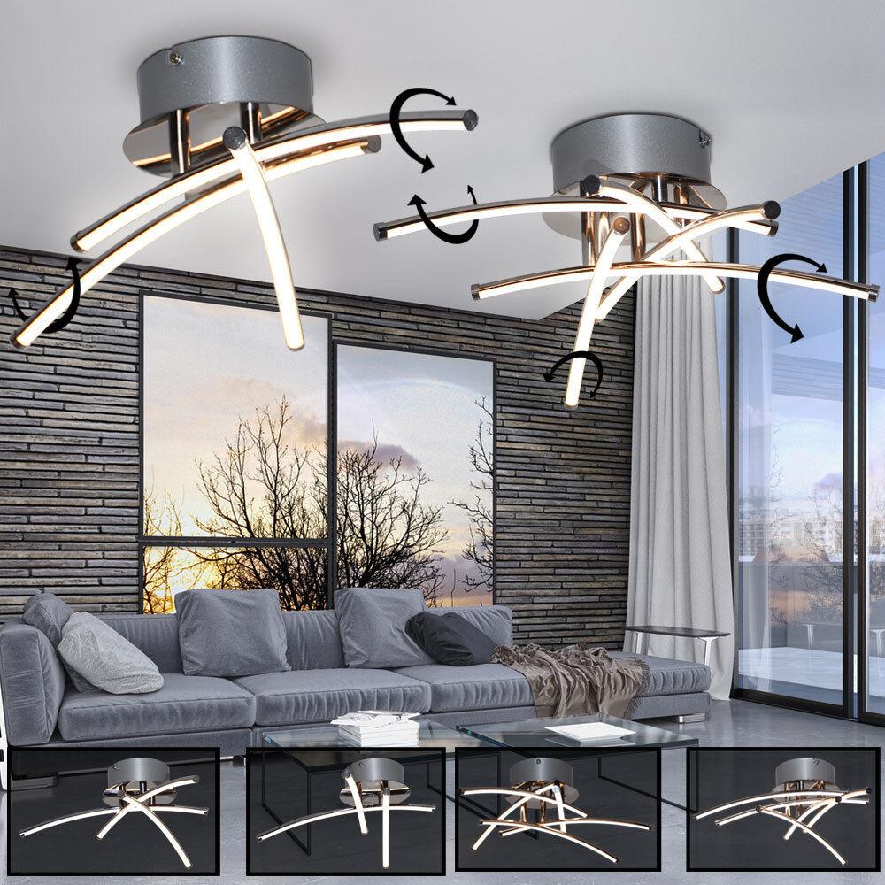 lumineuse tache tiges LED plafonnier Design mobile chrome ...