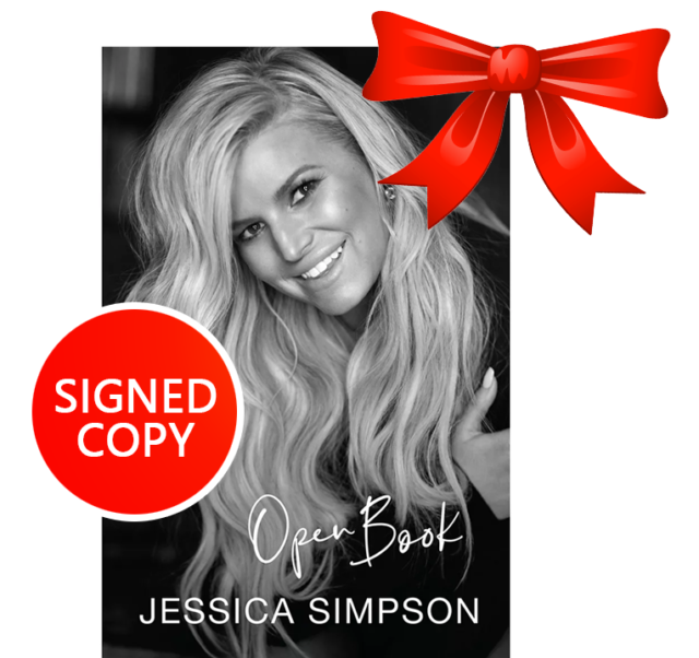 **Perfect BDAY Gift** Open Book (2020) JESSICA SIMPSON ++ AUTOGRAPHED ++
