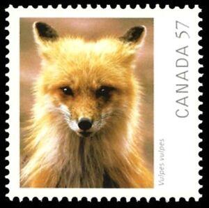 Canada-2392i-RED-FOX-VF-NH-Brand-New-2010-Die-Cut-Issue