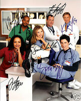 SCRUBS CAST AUTOGRAPH SIGNED PP PHOTO POSTER