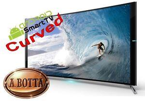 Televisore-Smart-TV-HD-32-034-pollici-CURVO-AKAI-CTV3226-T-Curved-Android-DVB-T2