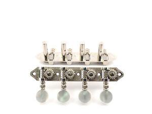 Schaller Mandolin//Bouzouki Machine Heads Nickel 5591