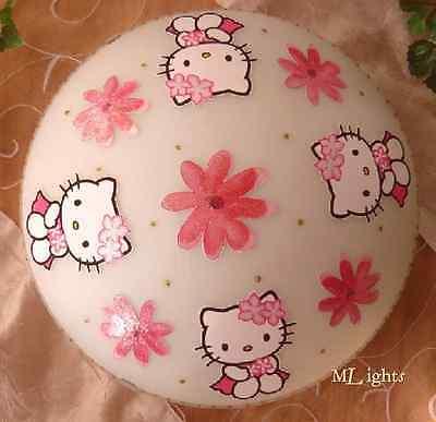 LED Deckenlampe * Hello Kitty - Blumen im Haar* inkl. Leuchtmittel -DIMMBAR-