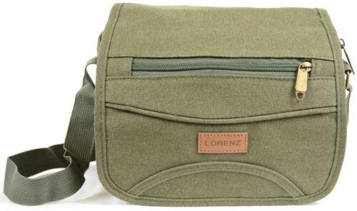Work Canvas /'Small Messenger/' Style Shoulder Bag Men/'s Ladies Travel