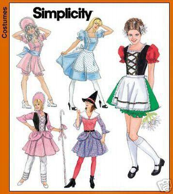 Simp 4008 Misses Fairy Tale Costumes Pattern Sz 14-20