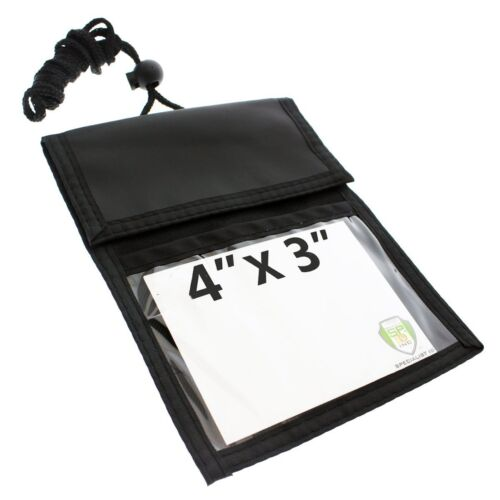 Ultimate Passport /& Trade Show Travel Wallet with THREE Pockets Specialist ID