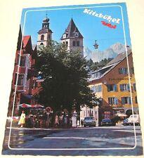 Austria Tirol Kitzbuhel Vorderstadt gegen Wilden Kaiser - posted 1984