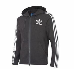 Details about Adidas Originals Curated Men's Full Zip Hoodie Black White br4249