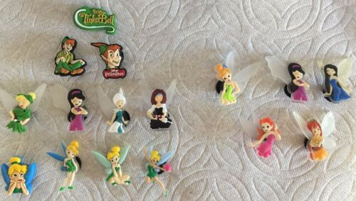 MOVIE SHOE CHARMS SILVERMIST FAWN IRIDESSA PETER TINK SHOE CHARMS CLOG CHARMS
