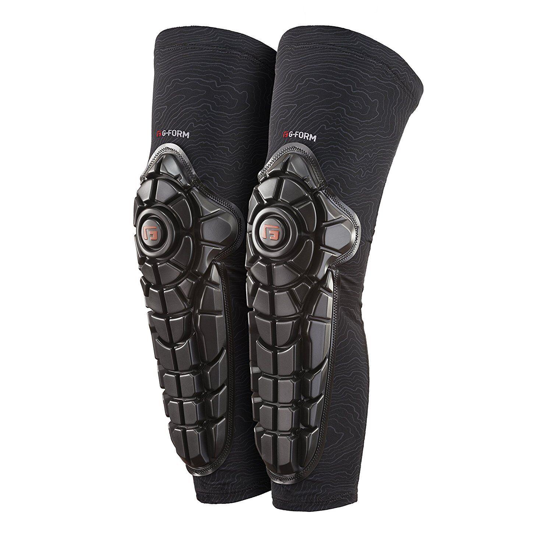 Knieschoner G-Form Elite Knee-Shin-Guards Schwarze Farbe