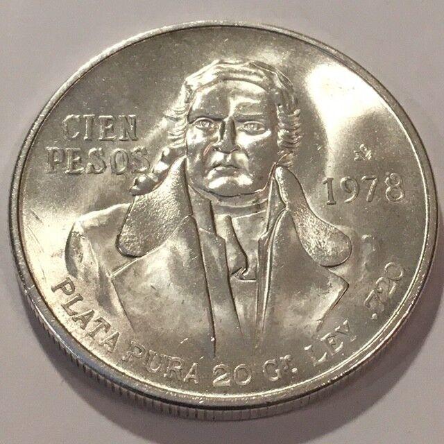 Mexico 100 Pesos, 1978