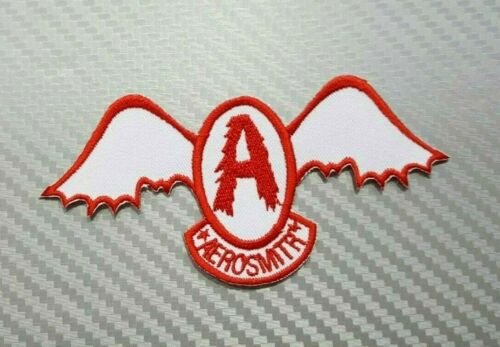 AEROSMITH WOVEN MUSIC HEAVY METAL ROCK BAND PUNK Embroidered Patch Iron Sew Logo