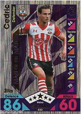 2016 / 2017 EPL Match Attax Man of the Match (433) CEDRIC Southampton