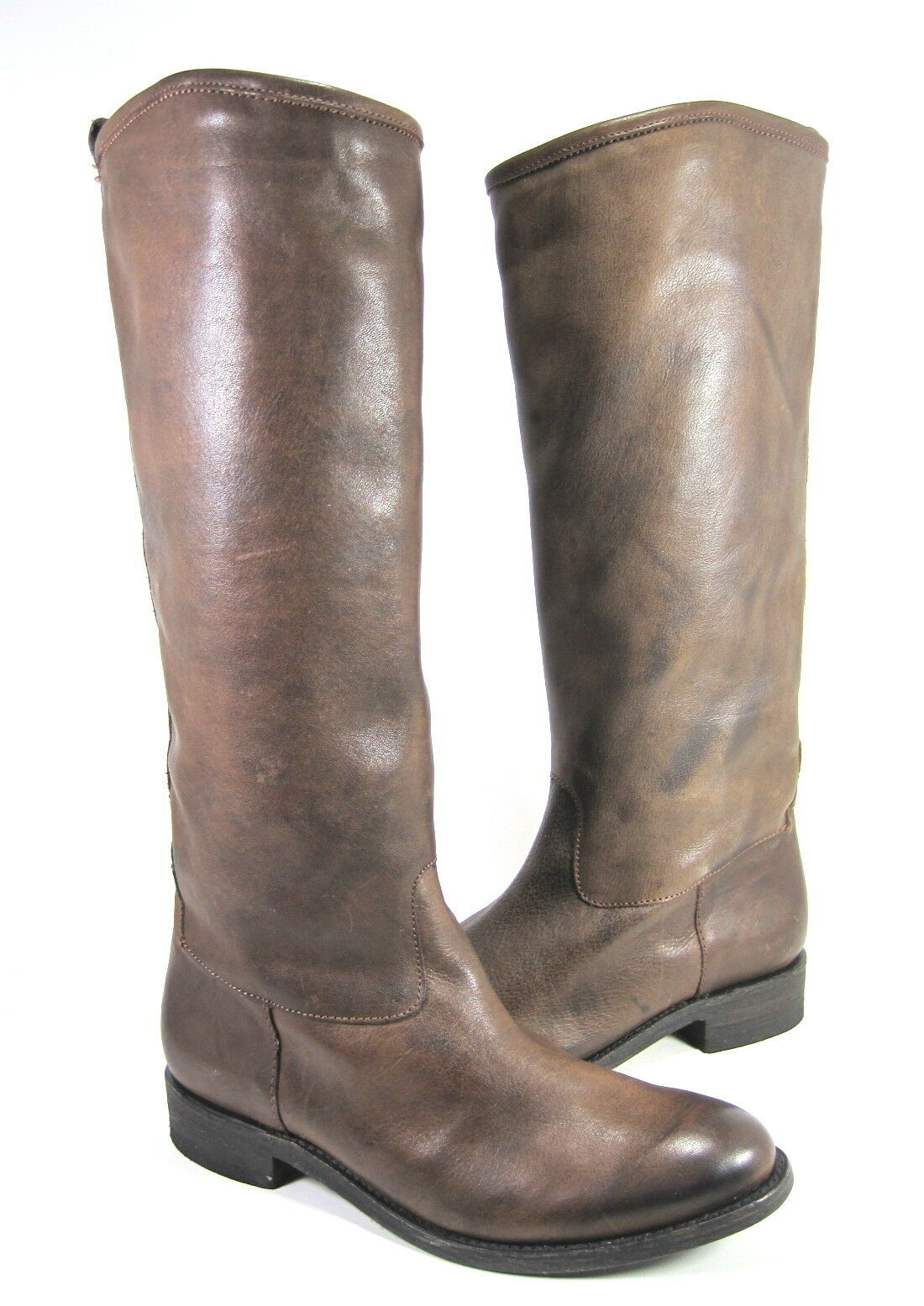 DOLCE VITA WOMEN'S PEPINO KNEE-HIGH BOOT CHOCOLATE LEATHER US SIZE 8 MEDIUM (B)M